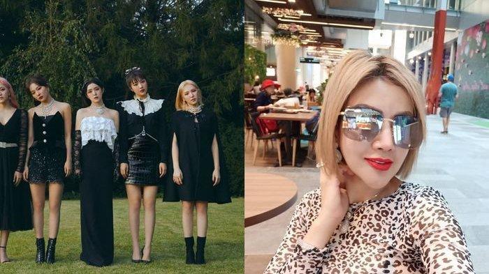 Barbie Kumalasari Pamer Foto Dengan Red Velvet, Ngaku Jadi Anggota Tambahan