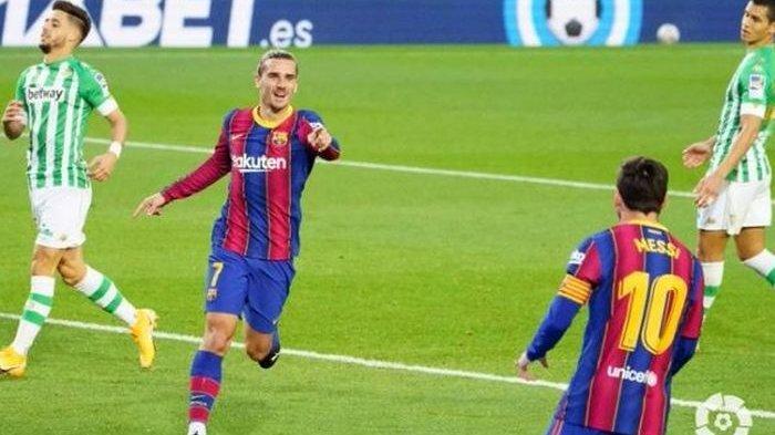 Lionel Messi Tolak Dioper Rekan Setim, Barcelona Bantai Real Betis 5-2