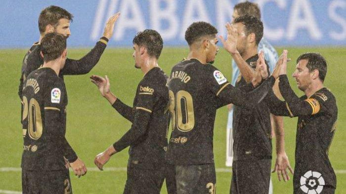 Celta Vigo Vs Barcelona, Hampir Tidak Pernah Terjadi, Lionel Messi Turun untuk Bantu Pertahanan