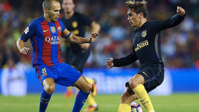 Menguasai Pertandingan, Barcelona Ditahan Atletico Madrid di Kandang