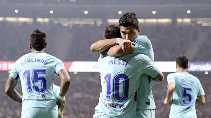 Tertinggal Lebih Dulu, Barcelona Berhasil Tahan Imbang Atletico Madrid, Tetap Kokoh di Klasemen