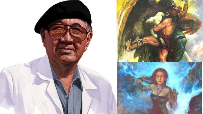 10 Lukisan Terbaik Karya Basoeki Abdullah Pelukis Resmi Istana Merdeka