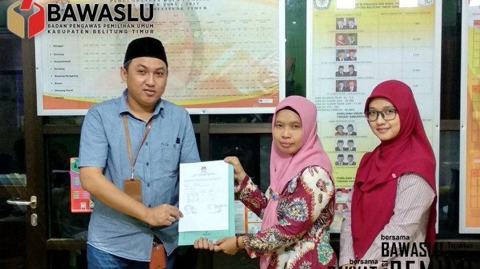 KPU Beltim Sampaikan Hasil Audit Dana Kampanye Peserta Pemilu 2019