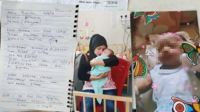 Satu Bayi Kembar Asal Aceh Ditahan Rumah Sakit Malaysia, Klik Link Ini Untuk Bantu Biayanya