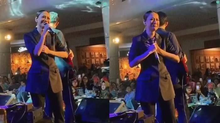 Ekspresi BCL Tahan Tangis Depan Penonton di saat Tak Sanggup Nyanyi Cinta Sejati di Panggung