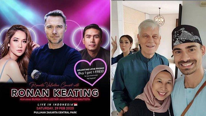BCL Tampil di Konser Ronan Keating, Pak Mat: Semoga Jadi Konser Yang Keren Akhir Pekan Ini