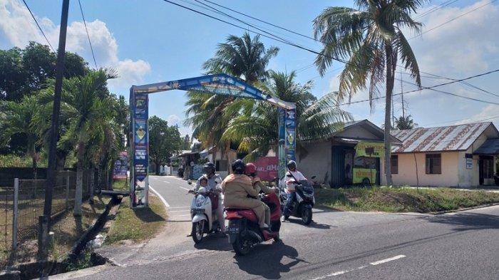 Mengintip Kampung Tertib Lalu Lintas  di Desa Air Ketekok Belitung