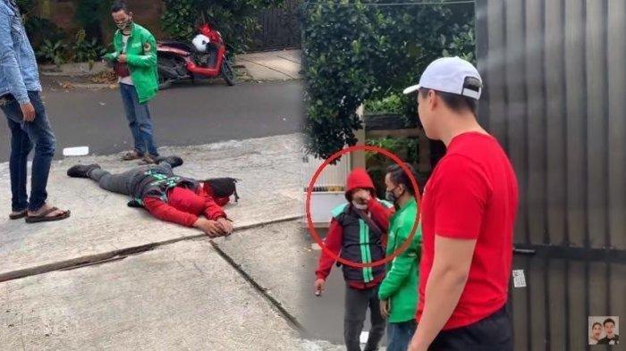 Baim Wong Bongkar Alasan Bisa Tahu Kalau Dibohongi Driver Ojol yang Pura-pura Pingsan, Ini Videonya