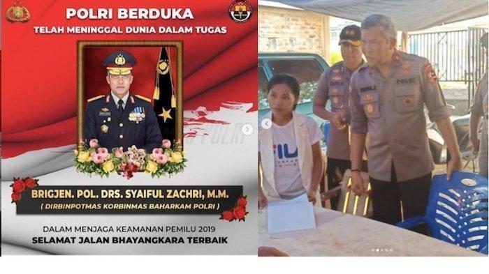 Innalillahi Wainna Ilaihi Rojiun, 9 Orang Polisi-Petugas KPPS yang Bertugas di Pemilu 2019 Meninggal