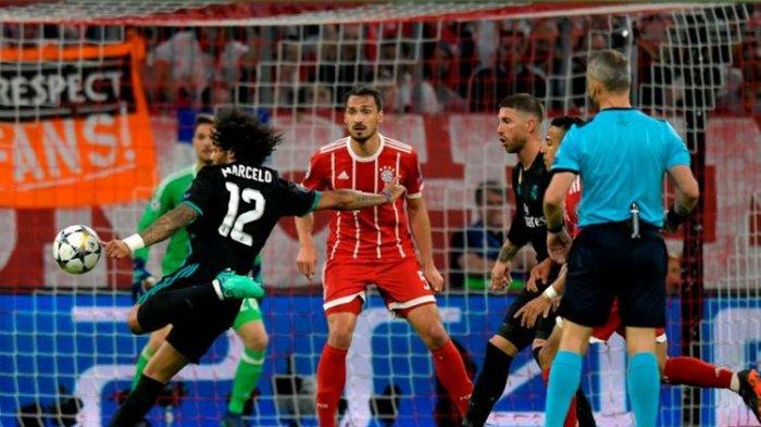 Ini Prediksi dan Jadwal Liga Champions, Real Madrid Vs Bayern Muenchen