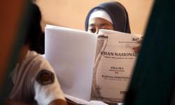 UNBK Bahasa Indonesia, Novita Merasa Susah Soal Majas
