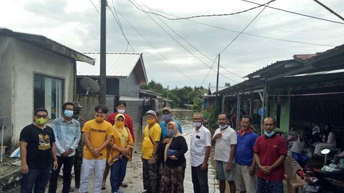DPD Partai Golkar Belitung Bantu Korban Banjir - belitung-160121.jpg
