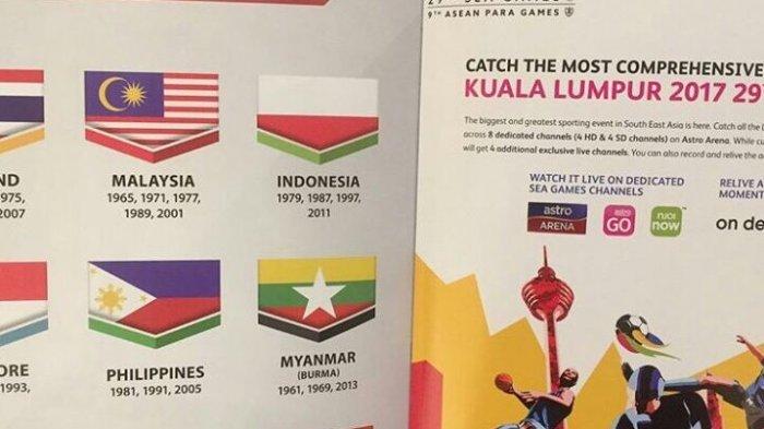 Soal Insiden Bendera Indonesia Terbalik di Sea Games, Begini Cara Media Malaysia Memberitakan