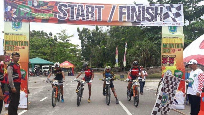 XCO Belitong MTB Challange Diikuti Atlet Sepeda Nasional