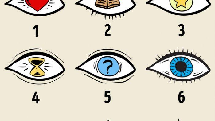 Bentuk Mata Cermin Kepribadianmu, Cek 9 Gambar Ini