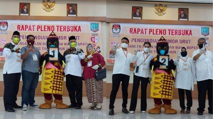 Burhanudin dan Yuri Kemal Ajak Pendukungnya Patuhi Protokol Kesehatan dalam Kampanye