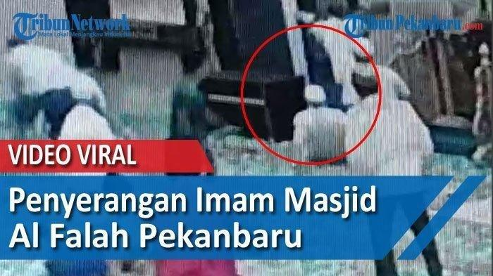 Sederet Fakta Imam Masjid Ditusuk saat Pimpin Doa, Terekam CCTV, Motif Pelaku Hanya Masalah Sepele