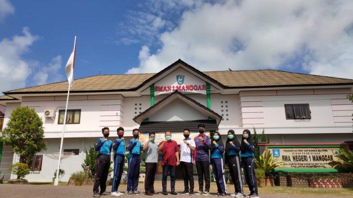Enam Siswa SMA Negeri 1 Manggar akan Bertugas Jadi Paskibraka Kabupaten Belitung Timur