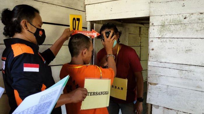 Perkembangan Kasus Curas di Cerucuk, Polres Belitung Tunggu Hasil Lab Forensik