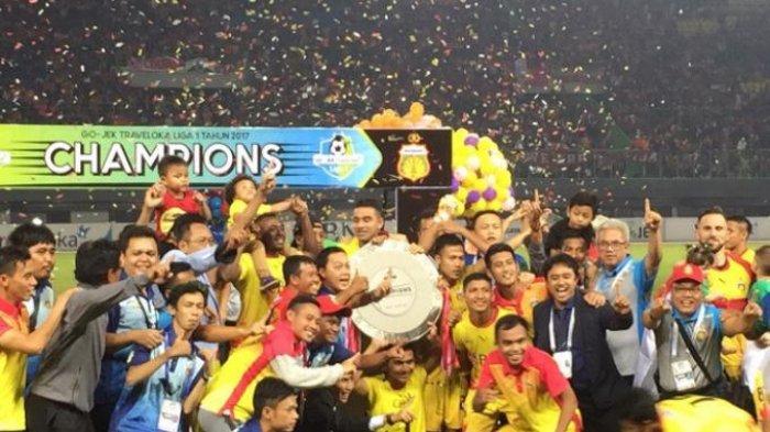 Raihan Poin Sama dengan Bali United, Bhayangkara FC Juara Liga 1, Ini 3 Klub yang Terdegradasi