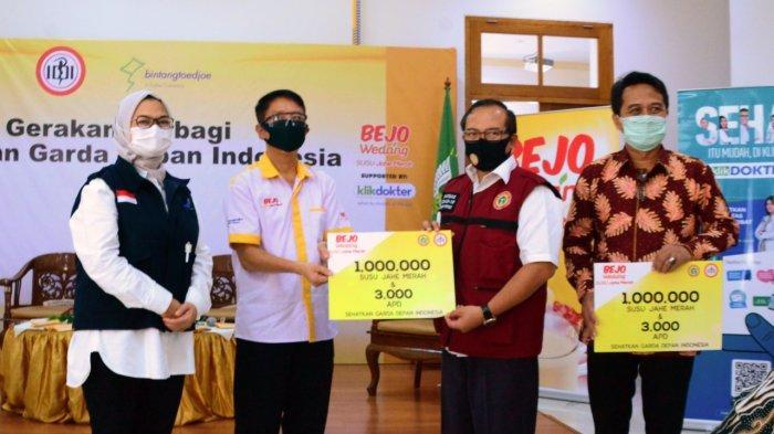 Jaga Kesehatan Garda Depan: Bintang Toedjoe Luncurkan Produk Susu Jahe Merah