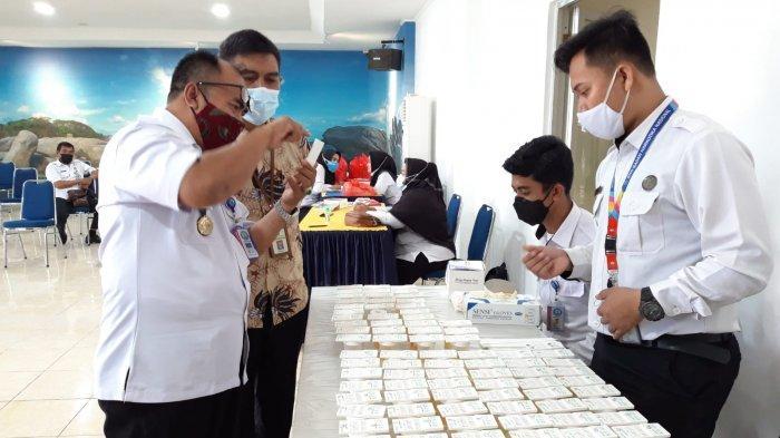 Gelar Tes Urine 82 Pegawai, Kepala BNNK Belitung Apresiasi KPP Pratama