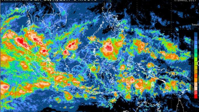 Peringatan Dini Cuaca Bangka Belitung, Hujan Disertai Angin Kecang dan Petir
