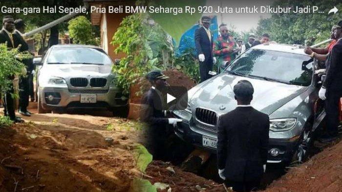 Pria Ini Dimakamkan Gunakan Peti Mobil BMW Seharga Hampir Rp 1 Miliar, Ini Alasannya