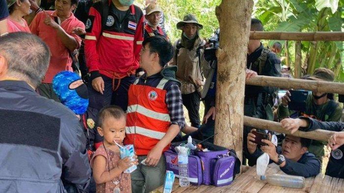 Warga Sekampung Heboh, Balita 3 Hari Menghilang, Saat Ditemukan Malah Asik Minum Susu di Hutan