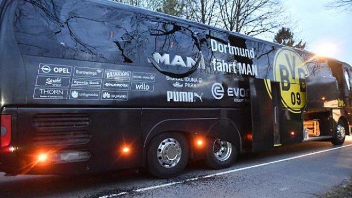 Bus Borussia Dortmund Dibom, Laga Lawan AS Monaco Ditunda