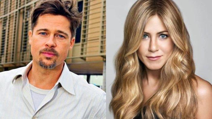 Tertangkap Kamera Bareng Jennifer Aniston, Ini Pengakuan Brad Pitt