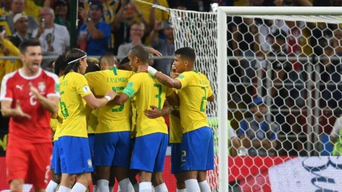 Kalahkan Serbia di Pertandingan Terakhir, Brasil Lolos Grup Sebagai Juara, Ini Lawan Selanjutnya