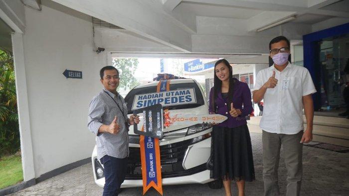 Lelyana Nasabah BRI Tanjungpandan Nggak Nyangka Menangkan Mobil Avanza