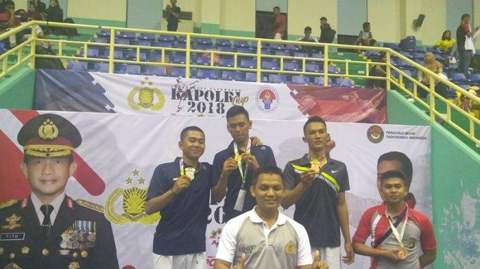 Polda Babel Raih 2 Medali di Kejuaraan Taekwondo Bharaduta Open Seri II Piala Kapolri