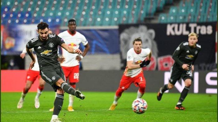 Hasil Liga Champions RB LeipzigVs Man United, Setan Merah Telat Bangkit dan Gagal Lolos ke 16 Besar