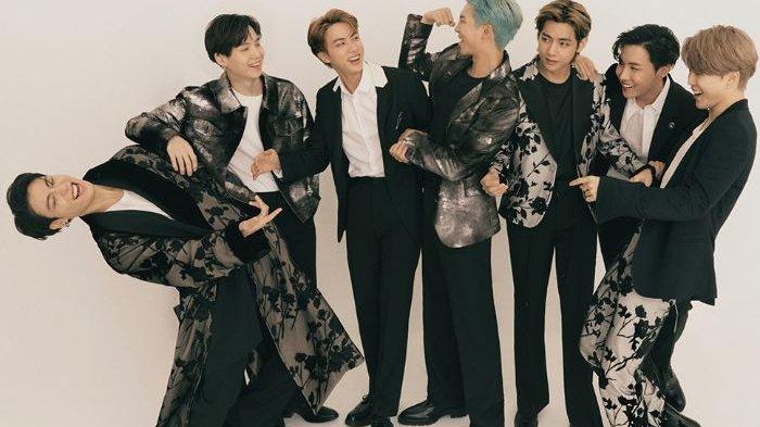 BTS Boyong Piala Penghargaan American Music Awards, Kalahkan Jonas Brothers dan Maroon5