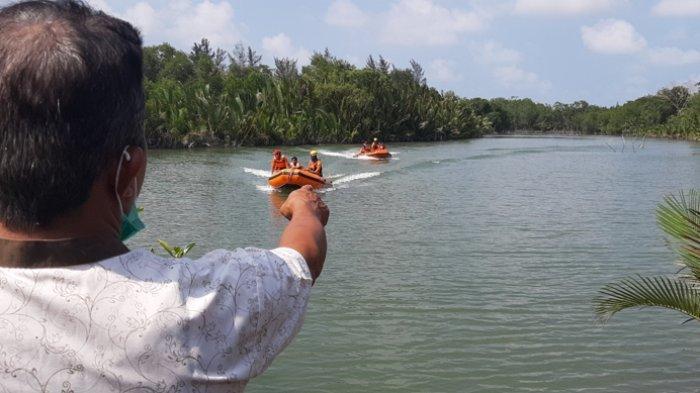 BREAKING NEWS, Warga Kecamatan Manggar Diterkam Buaya Saat Melimbang Timah
