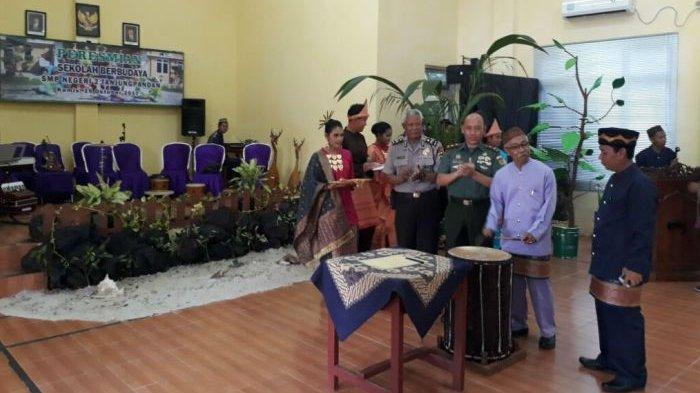 SMPN 2 Tanjungpandan Resmi Jadi Sekolah Berbudaya