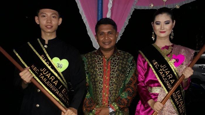 Siswa-siswi SMAN 1 Tanjungpandan Sabet Gelar Bujang Dayang Tanjungpandan 2017