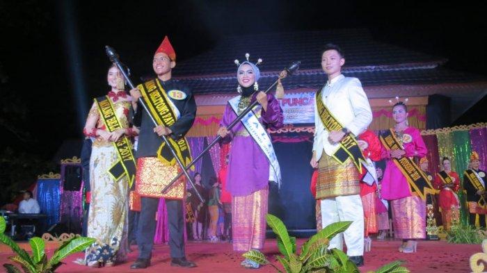 Foto-foto Malam Puncak Pemilihan Bujang Dayang Belitung 2018