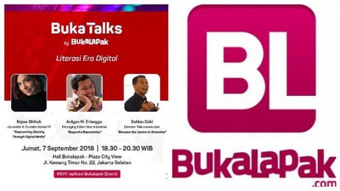 Direktur Tribunnews.com Sepanggung Najwa Shihab, Jadi Narasumber BukaTalks Garapan Bukalapak