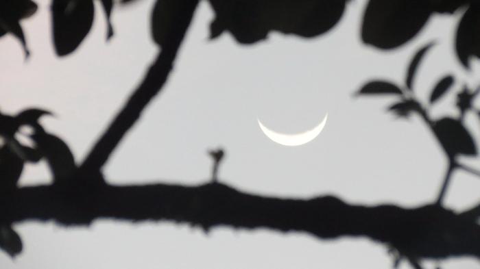 Bulan Sabit 1 Juli 05.48 WIB