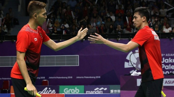 Kalahkan Ganda Jepang, Fajar/Rian Pastikan Indonesia Melaju ke Final