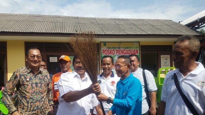 Predikat Desa Terbersih dan Terkotor, Kata Bupati Belitung Sebagai Bentuk Motivasi