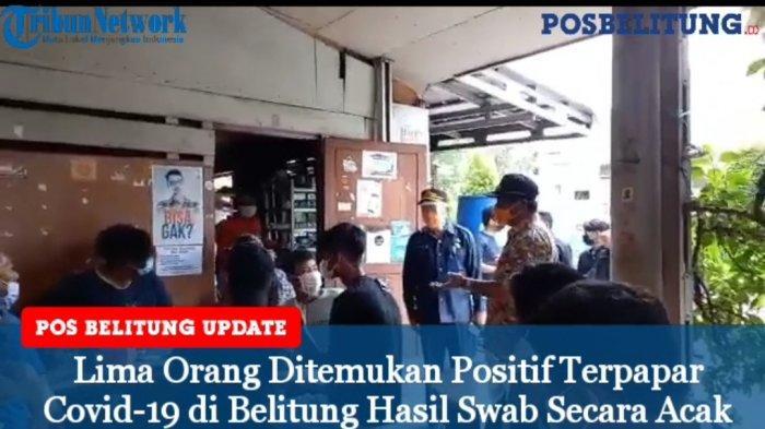 Lima Orang Ditemukan Positif Terpapar Covid-19 di Belitung Hasil Swab Secara Acak