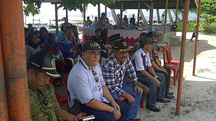 Bupati Belitung Silaturahmi ke Desa Pulau Seliu