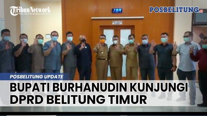 Bupati Burhanudin Sowan Perdana ke DPRD Belitung Timur, Ini yang Dibicarakan