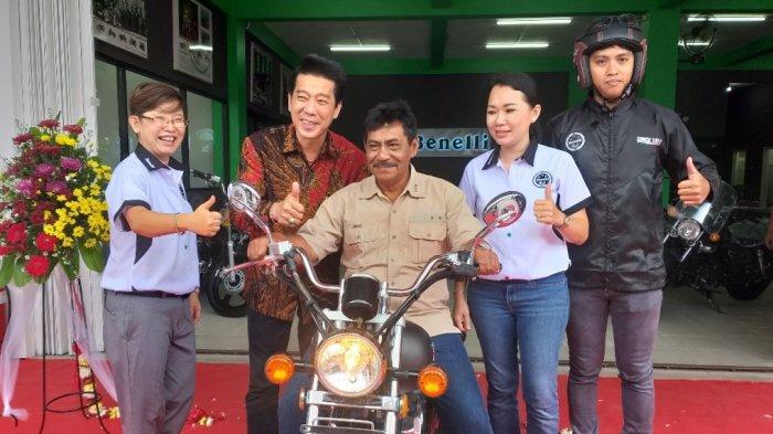 Peresmian Showroom Benelli di Belitung, Bupati Sanem: Motor Bukan Lagi Kebutuhan Tapi Gaya Hidup