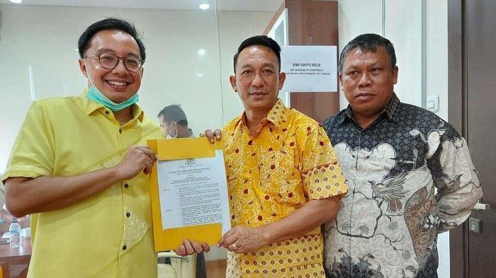 Burhanudin-Khairil Anwar Maju Pilkada Belitung Timur 2020, Ini Respon DPD I dan DPD II Golkar
