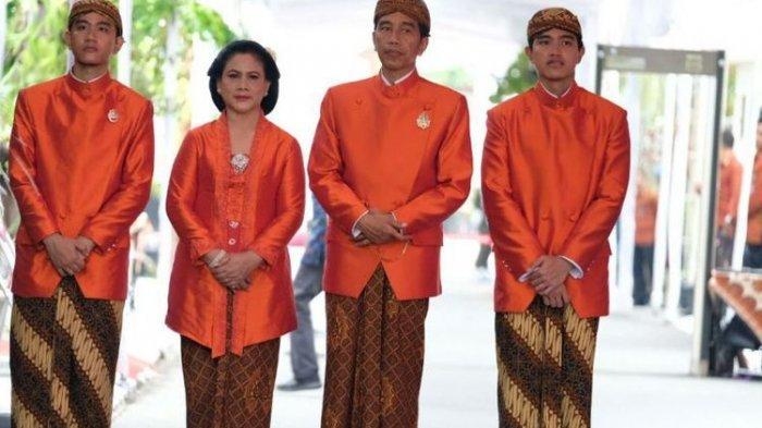 Keluarga Jokowi Kenakan Busana Oranye saat Siraman Kahiyang, Ini Alasannya